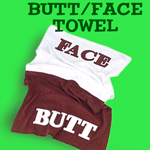 Face Butt Towel from Dr. Oz