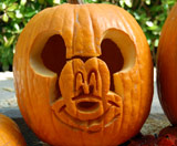 Disney Mickey Pumpkin Carving Template