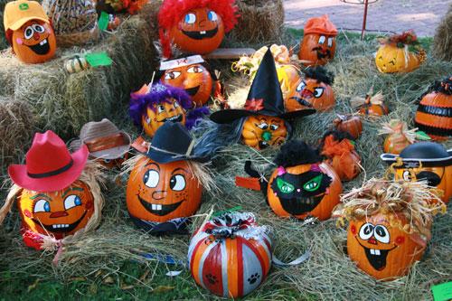 cute pumpkin faces