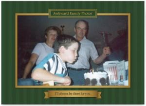 Awkward Family Photo Card Grandpa