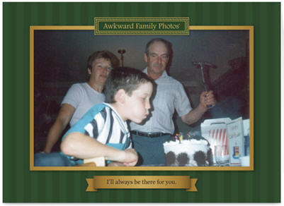 Awkward Family Photo Card Grandpa