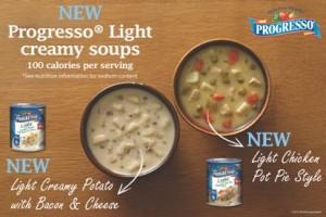 Progresso Light Creamy Soups