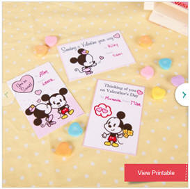 Print Free Disney Valentines