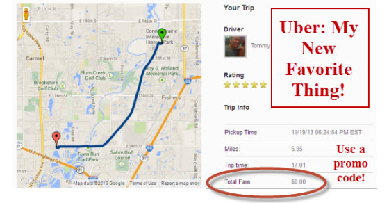Review of Uber Indianapolis