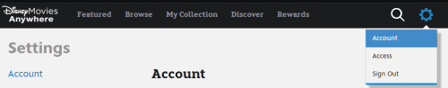 DMA-account