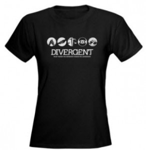 Divergent Shirts at CafePress