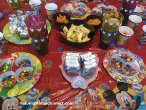 Disney Party Food
