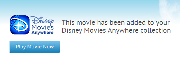 Adding Movies to Disney Movies Anywhere