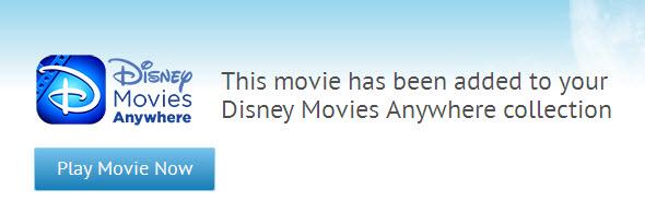 Adding Movies to Disney Movies Anywhere
