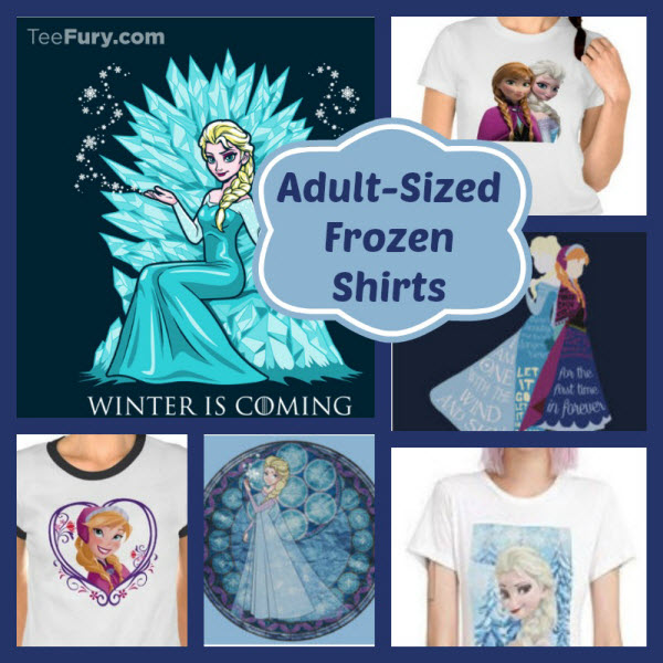 Frozen Shirts in Adult Sizes