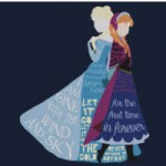 Anna and Elsa Shirt from Redbubble