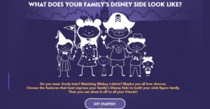 Free Build Your Disney Side Sticker