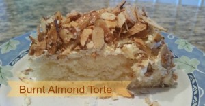 Burnt Almond Torte for Prantl's Bakery
