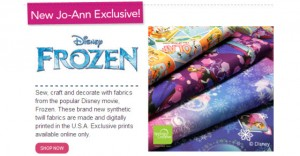 Frozen Fabric (Multiple Styles)
