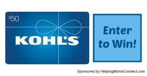 Win a $50 Kohl's Gift Card for Back to School