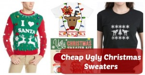 Find Cheap Ugly Christmas Sweaters