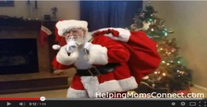 Santa Video In Your Home (and Contest!)