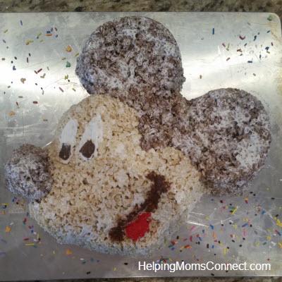 Mickey Rice Krispy Treat
