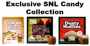 Exclusive SNL Candy (Including Schweddy Balls)