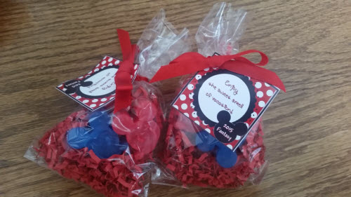 Mickey Mouse Soap Favors