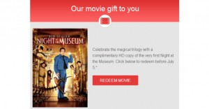 "Did You Get Your Free ""Night at the Museum""?"