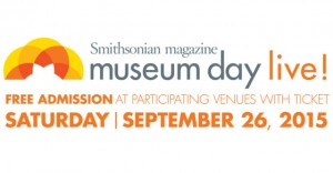Free Museum Tickets September 26