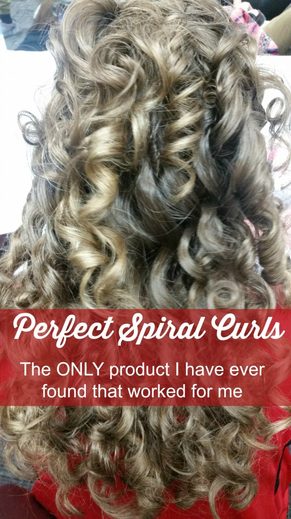 Perfect Spiral Curls That Last for 24 Hours