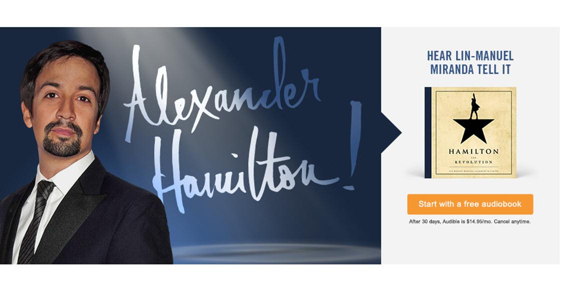 Free Hamilton Audiobook