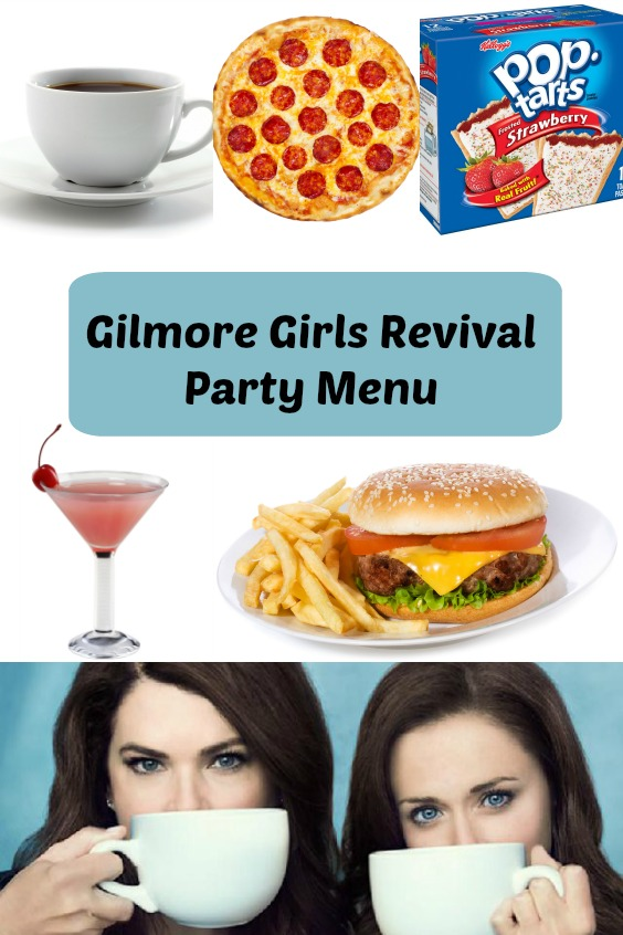 Gilmore Girls Revival Party Menu