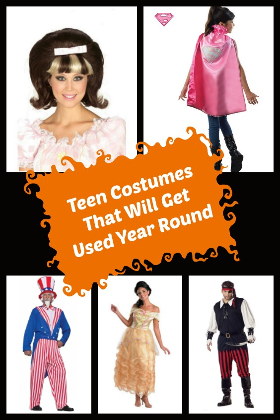 Teen costumes you can use all year.
