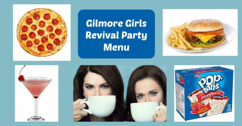 Gilmore Girls Party Menu