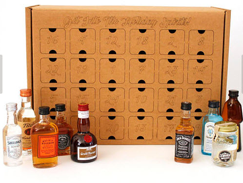 Advent calendars for adults helping moms connect buy all the little bottles of what you want to fill the box and fill them from the backside you can get them with 24 boxes for a true advent calendar solutioingenieria Choice Image