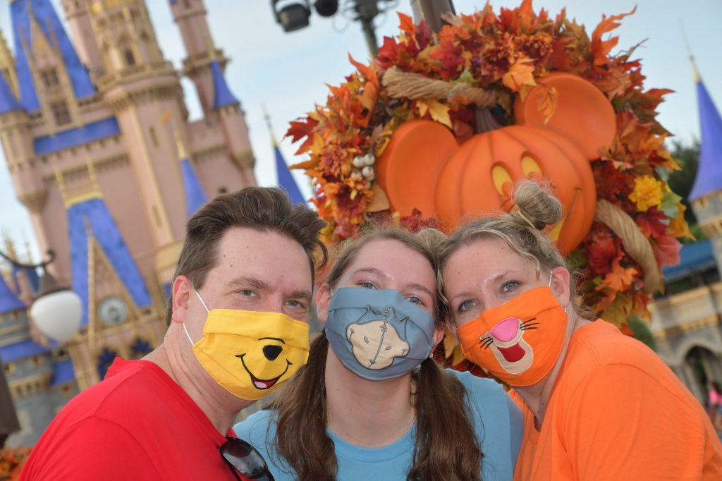 Halloween Masks at Disney